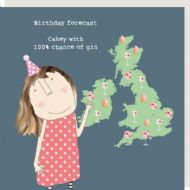 Rosie Made a Thing 'Birthday Forecast' Card